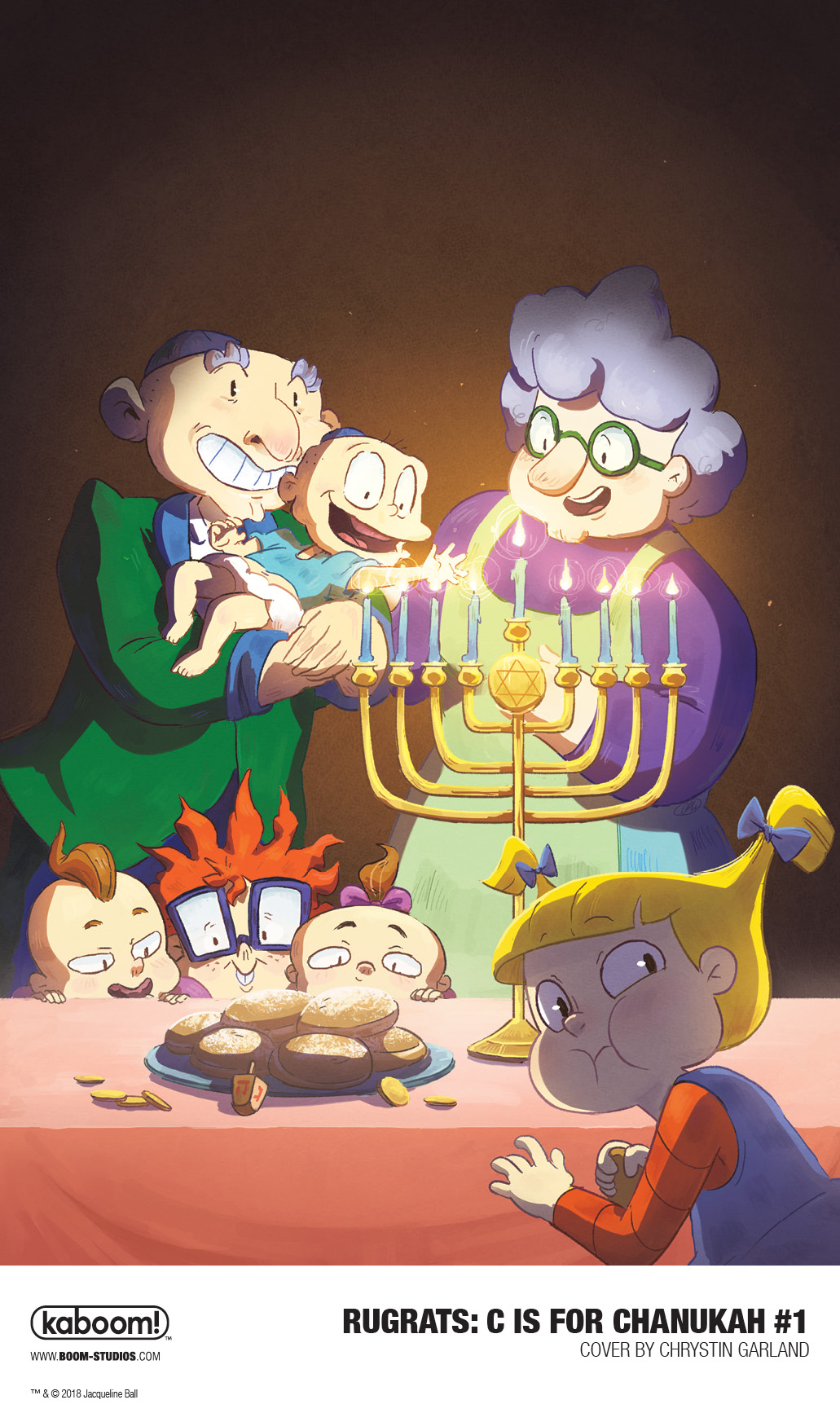 Unwrap Rugrats: C is for Chanukah Holiday Special By Reading This Preview - Blee...