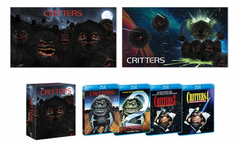 Scream Factory Critters Box Set 1
