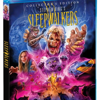 Scream Factory Sleepwalkers Blu Ray Cover