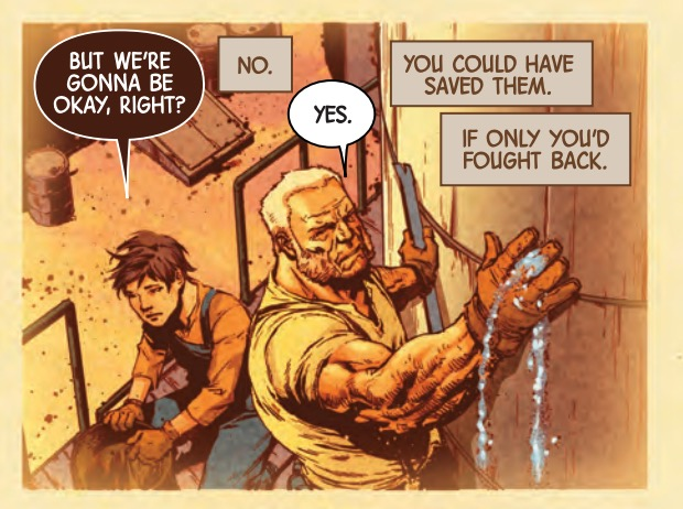 Wolverine Finally Takes Responsibility in Next Week's Old Man Logan #49 - Bleedi...
