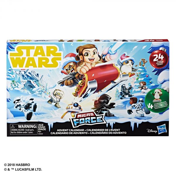 Star Wars Micro Force Advent Calendar - in pck