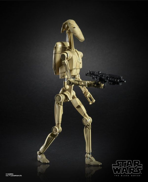 Star Wars The Black Series 6-inch Battle Droid Figure (1)