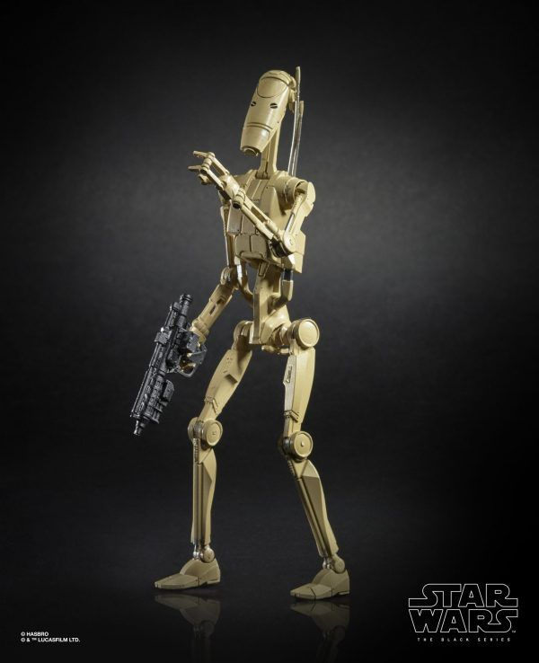 Star Wars The Black Series 6-inch Battle Droid Figure (2)
