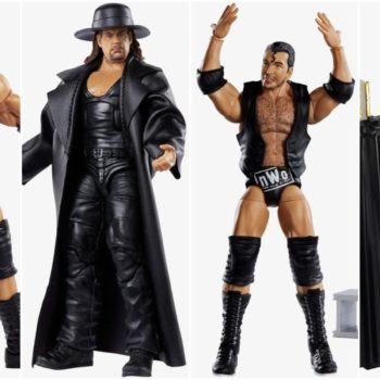 WWE Mattel Wresltemania Elite Collage
