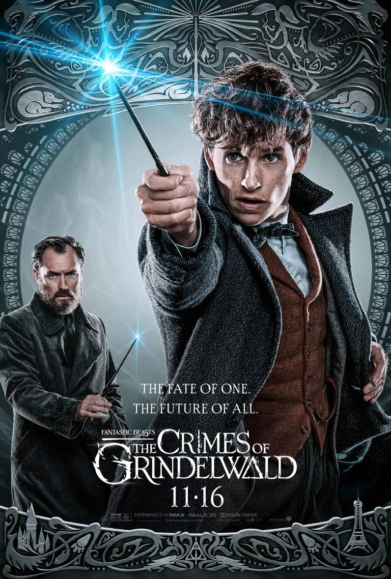 Resultado de imagen para fantastic beasts the crimes of grindelwald poster