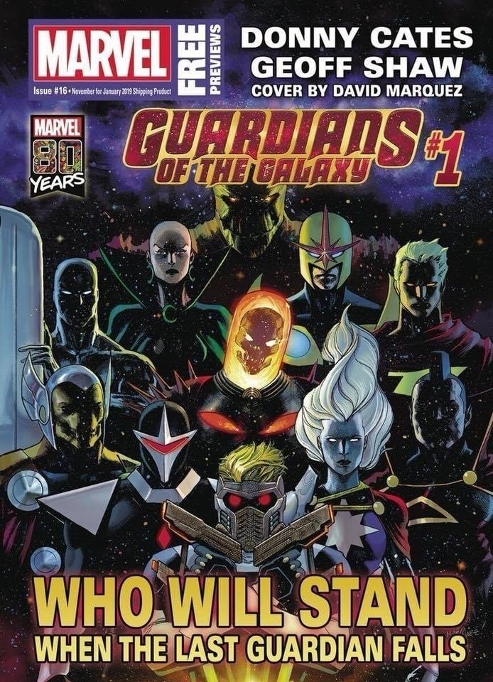 Marvel Reveals Full Lineup of Donny Cates and Geoff Shaw's Guardians