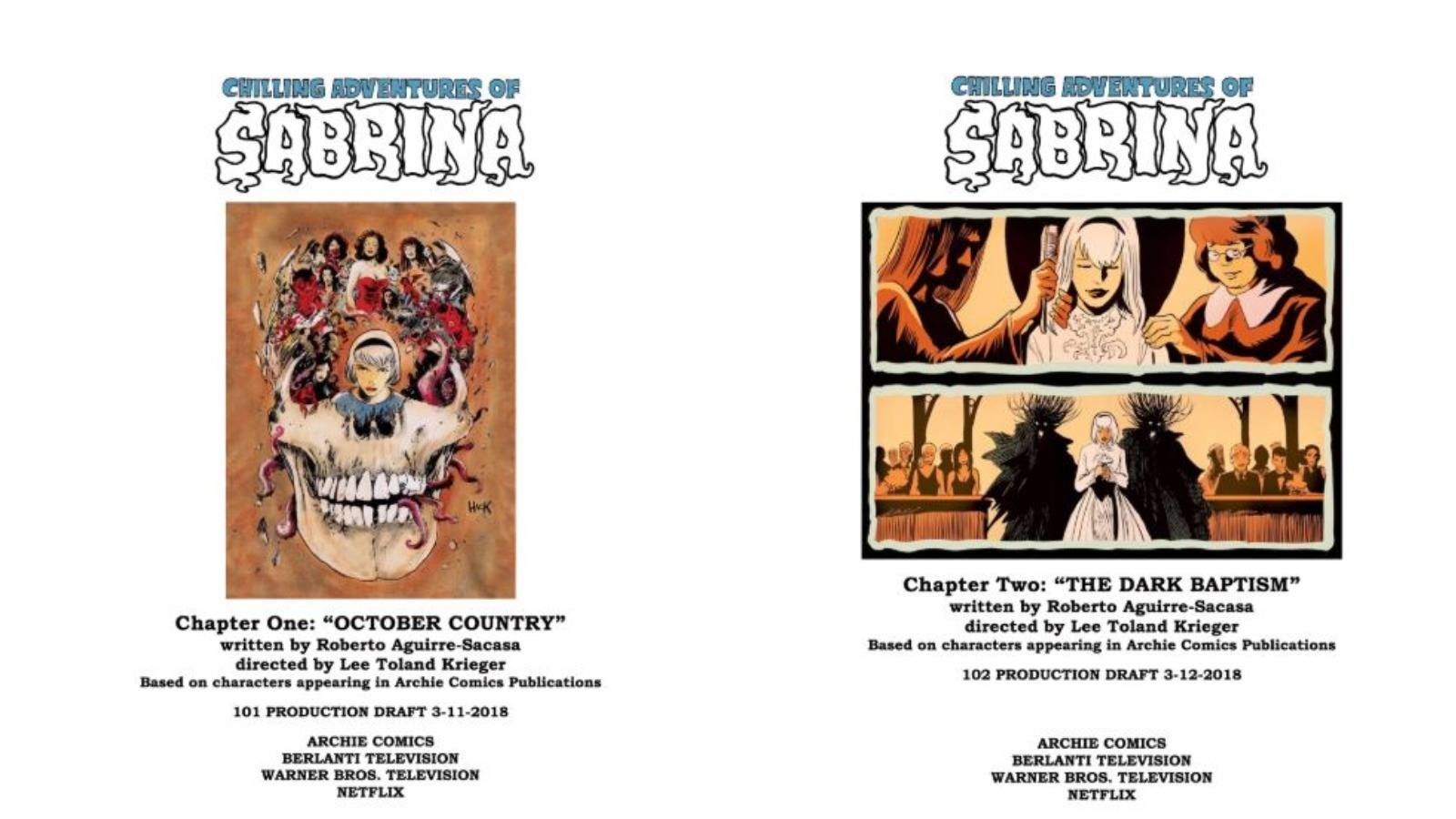 Sabrina Season 1, E01 'October Country'/E02 'The Dark