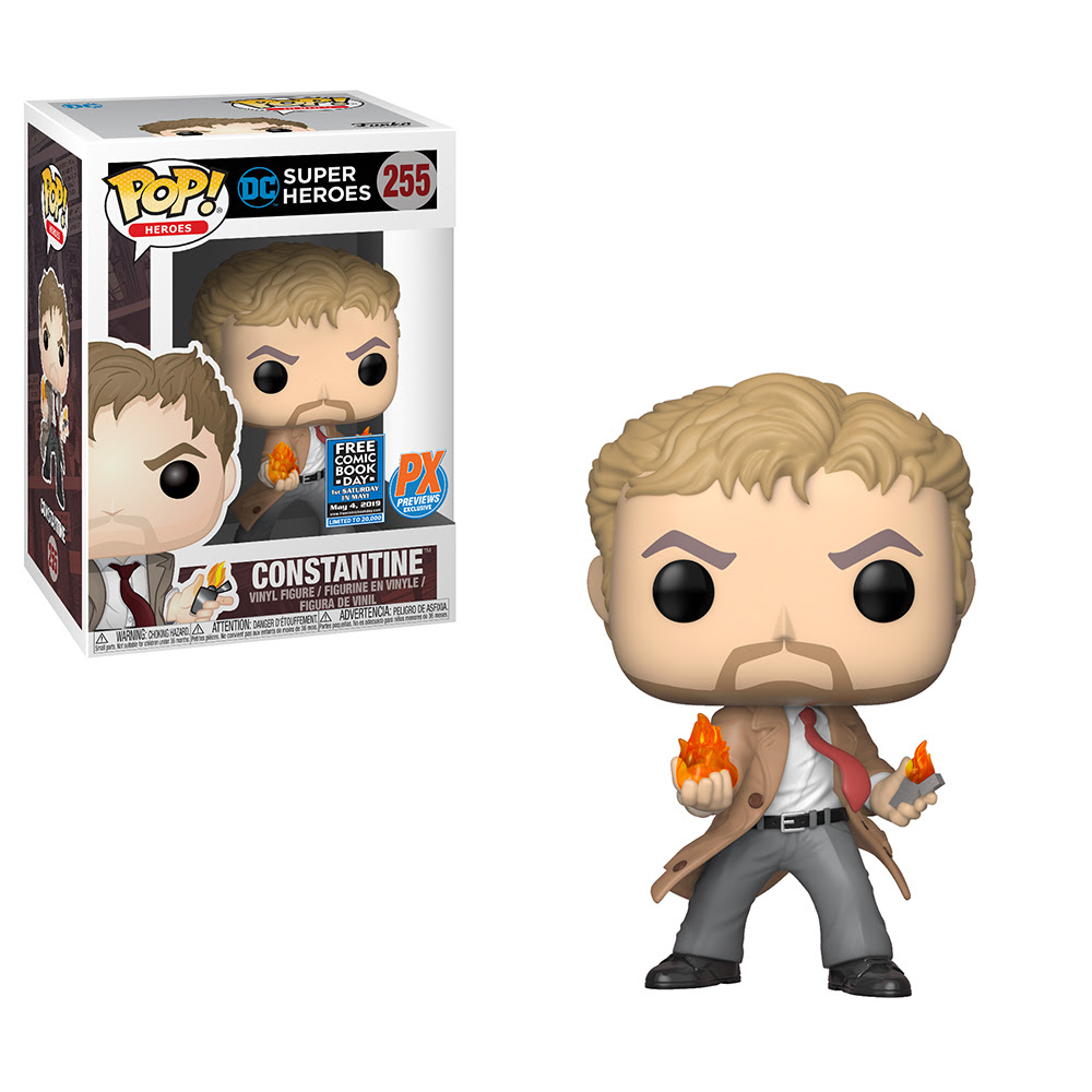 Comic Shops Get an Exclusive John Constantine Funko POP for Free Comic Book Day 2019 (UPDATE) - Bleeding Cool News And Rumors
