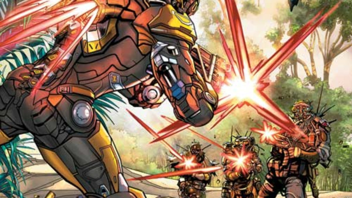 Dark Horse Comics Launches Anthem, Girl In The Bay and