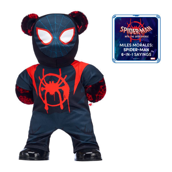 Build a Bear Spider-Verse Miles Bear 2