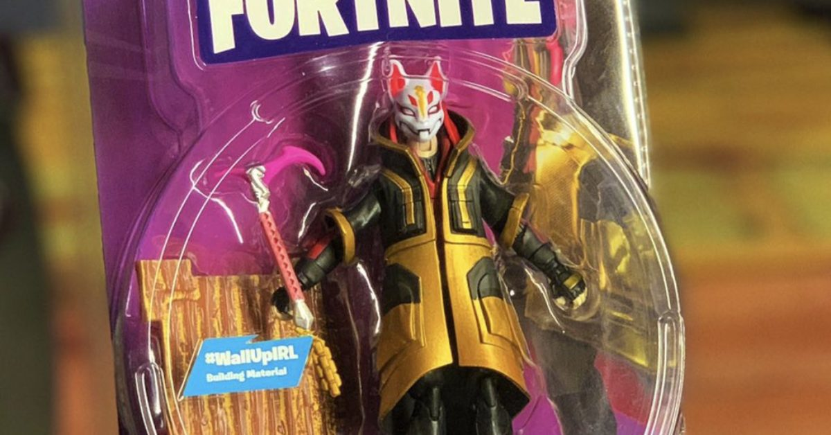 Fortnite Will Be Getting Standard Action Figures Soon