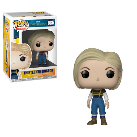 Funko Doctor Who 13th Doctor Pop 2