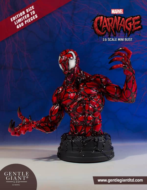 Gentle Giant Marvel Carnage Bust 5