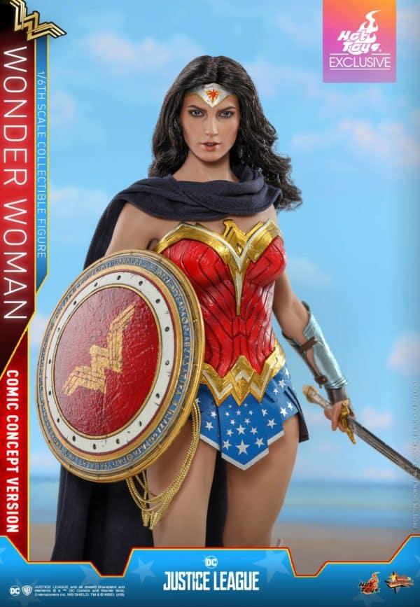 Hot Toys Justice League Wonder Woman Concept 1