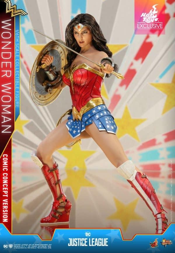Hot Toys Justice League Wonder Woman Concept 5