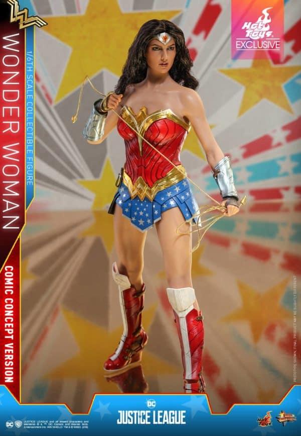 Hot Toys Justice League Wonder Woman Concept 6