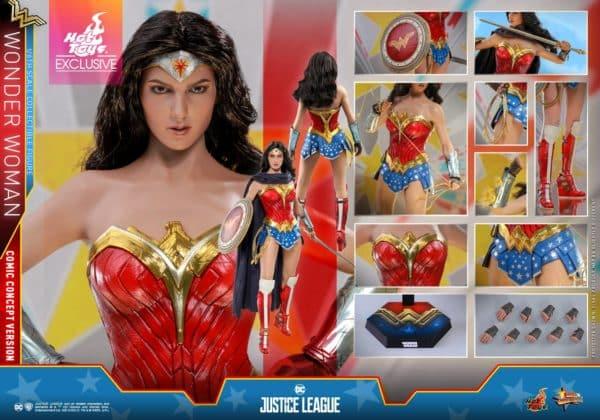 Hot Toys Justice League Wonder Woman Concept 8