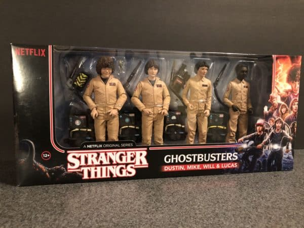 McFarlane Toys Stranger Things Ghostbusters Set 1