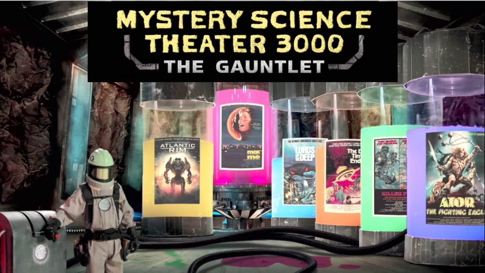 Mystery Science Theater 3000 The Gauntlet Is Cheesy Mayhem Review
