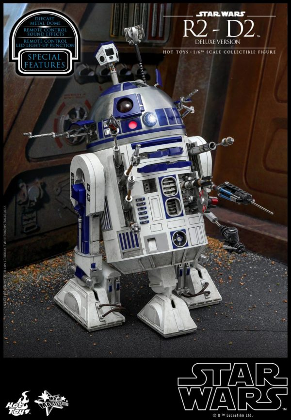 Star Wars Hot Toys R2 D2 Deluxe 1