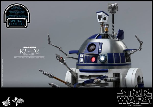 Star Wars Hot Toys R2 D2 Deluxe 13