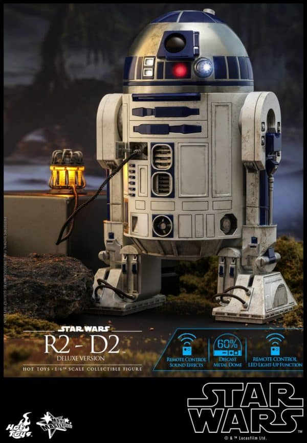 Star Wars Hot Toys R2 D2 Deluxe 5