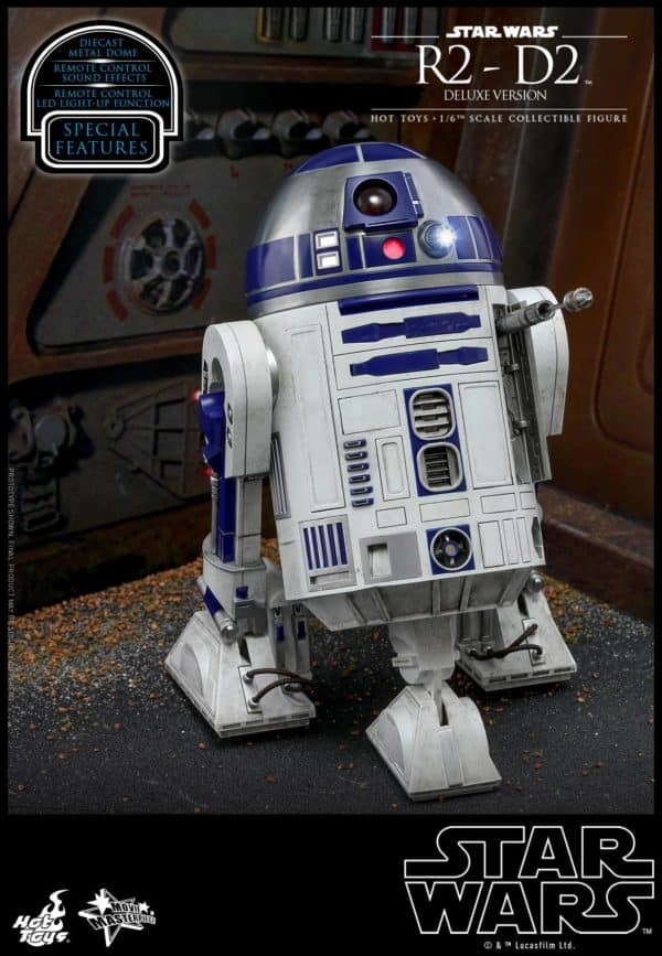 Star Wars Hot Toys R2 D2 Deluxe 6