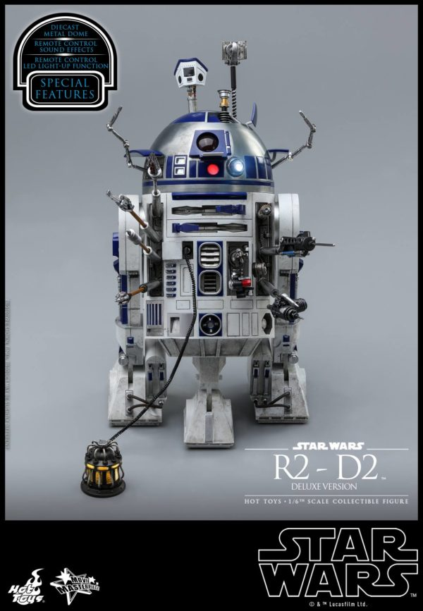 Star Wars Hot Toys R2 D2 Deluxe 8