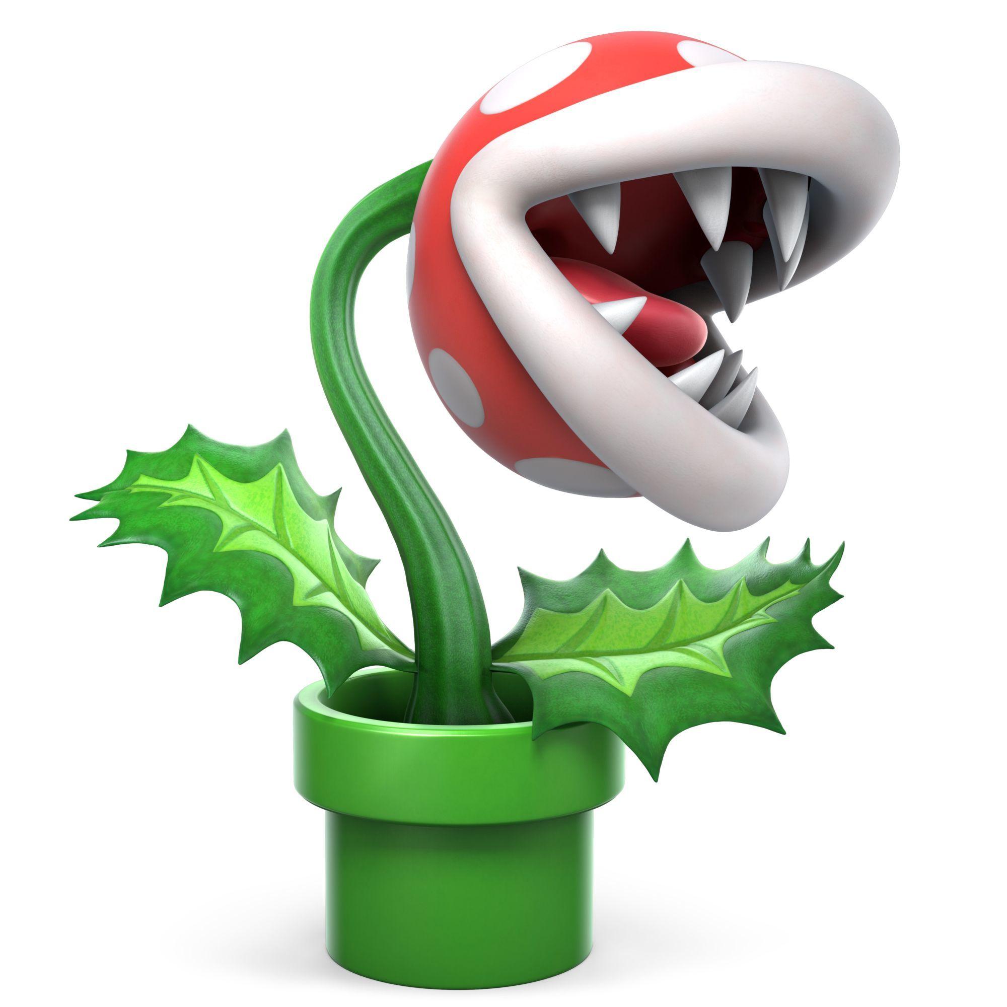Piranha Plant Set For Super Smash Bros  Ultimate in February