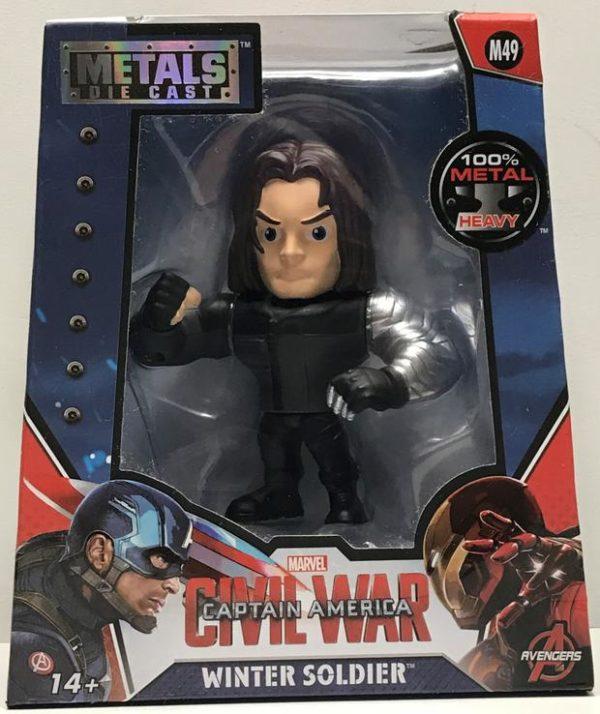 Winter Soldier Metal Figure