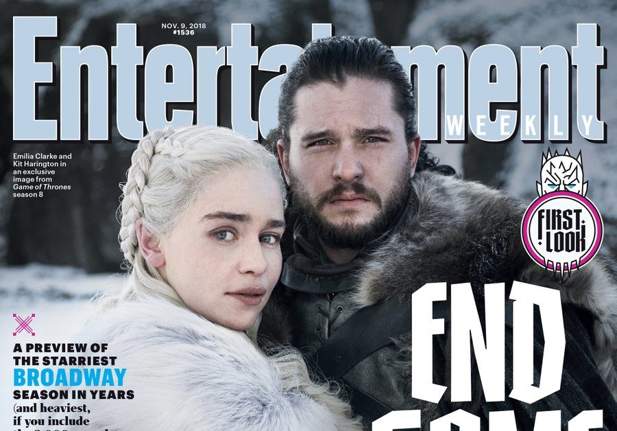 Ew Shares First Cover Featuring Game Of Thrones Season 8