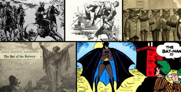 Missouri Bald Knobbers, Dead Rabbits, Skinwalker Owl Men, Bat of the Battery, Batman