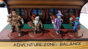 adventure zone characters come to life with hero forge miniatures