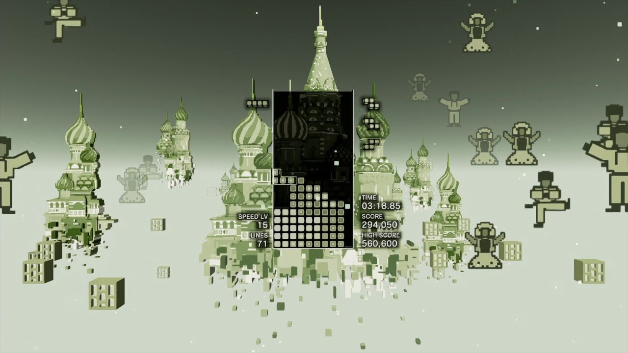 Tetris Effect Has a Game Boy Tetris Skin You Can Unlock