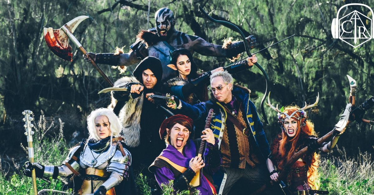 The cast of Critical Role's first campaign.
