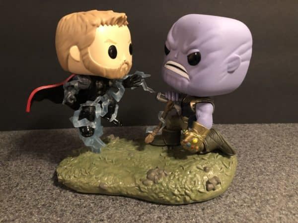 Funko Marvel Infinity War Thor Thanos Movie Moment 1