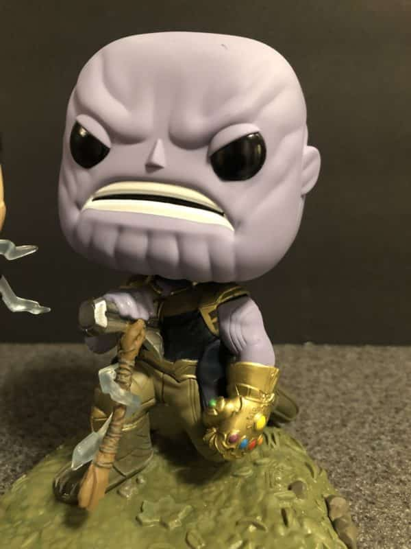 Funko Marvel Infinity War Thor Thanos Movie Moment 3