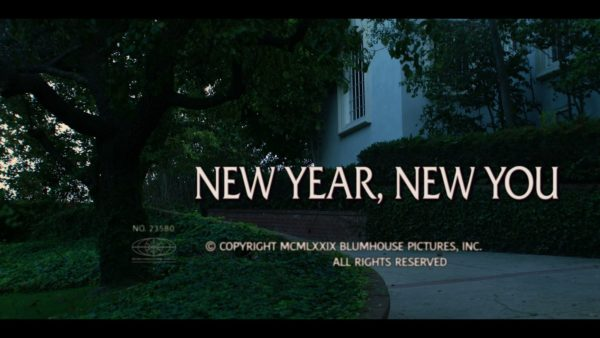 Into the Dark New Year, New You Title Card