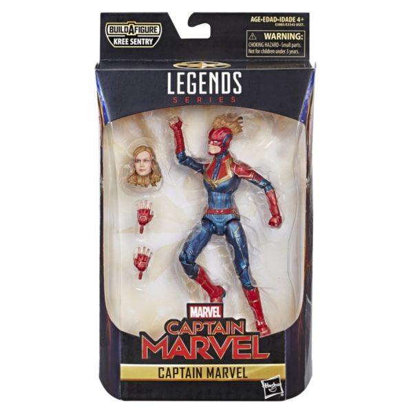 Marvel Captain Marvel 6-inch Legends Captain Marvel Figure - in pkg