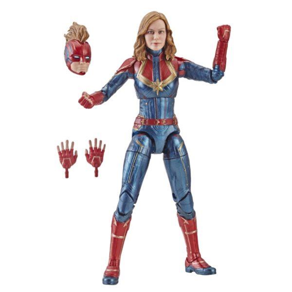 Marvel Captain Marvel 6-inch Legends Captain Marvel Figure - oop