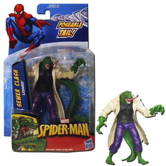 Marvel Universe Lizard Figure