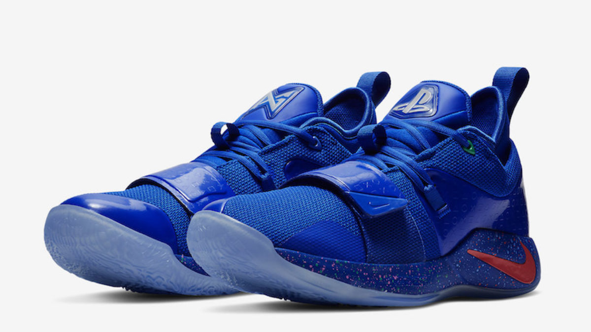 new style 2f85e ae947 Nike Gives a Release Date to Their Blue PlayStation PG 2.5's