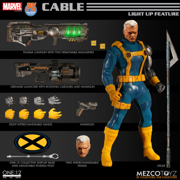 One 12 Collecitive Previews Exclusive Cable 2