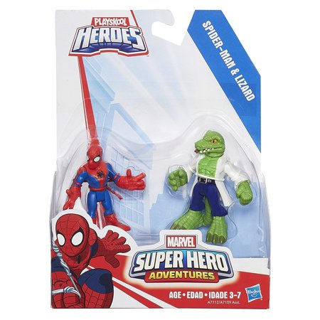 Playschool Heroes Spidey Lizard Pack
