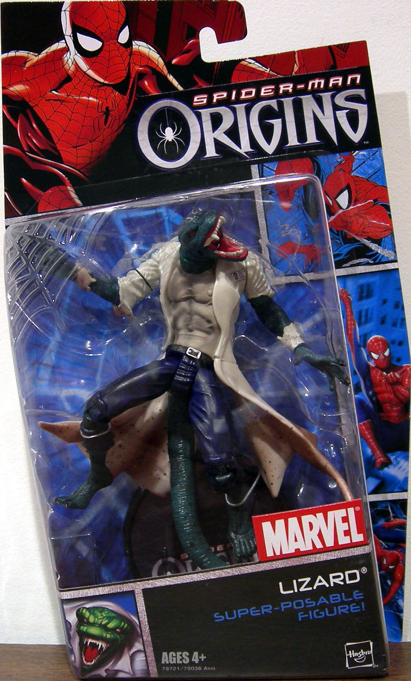 Spider-Man Origins Lizard