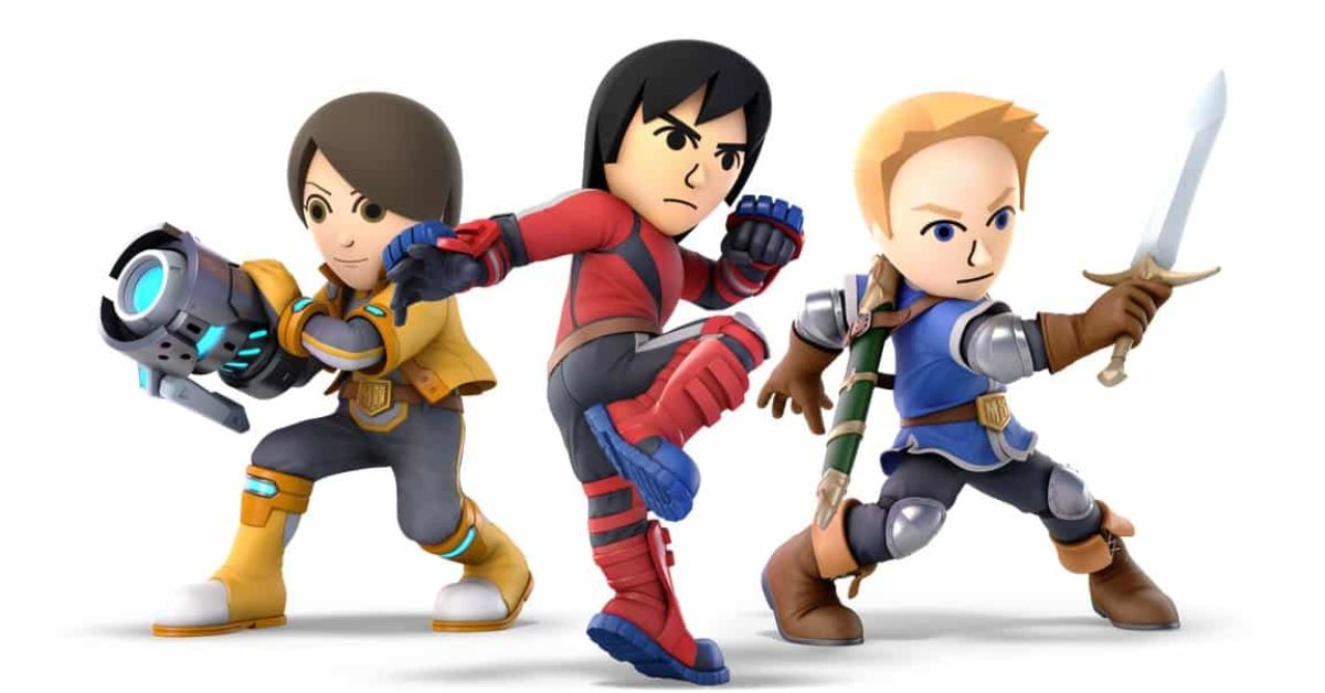 mii fighter dlc is coming to super smash bros ultimate