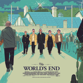 The World's End Mondo Poster