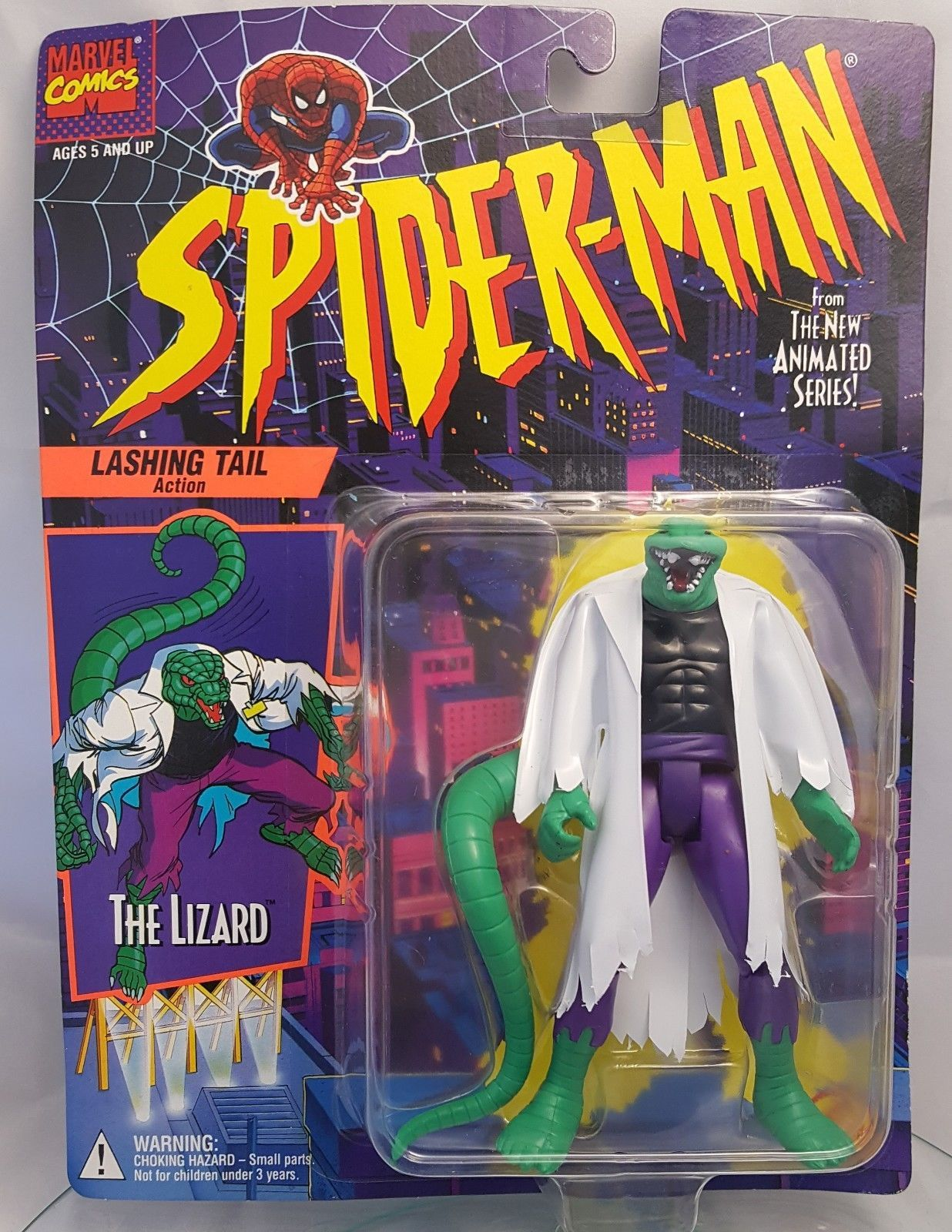 Toy Biz Lizard Lashing Tail