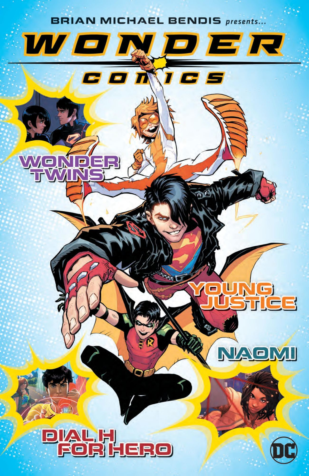 9-Page Guide to Brian Bendis' Wonder Comics - Wonder Twins, Young