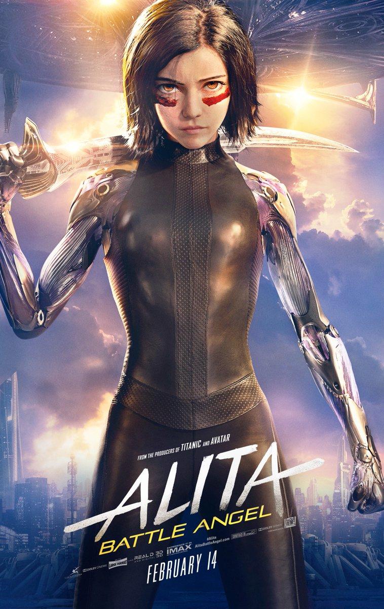 Battle Angel Movie 2019 Robert Rodriguez Poster 24x36 32x48 P-325 Art Alita